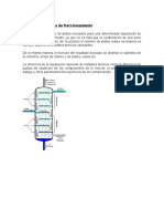 Diseño de Columna de Fraccionamiento