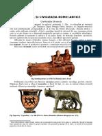 arta Și Civilizaţia Romei Antice