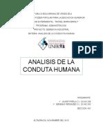 Analisis de La Conducta Humana