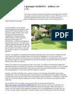 « Aménagement paysager facilitée - utilisez ces précieux conseils! »
