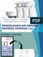 Ppt Reverse Osmosis