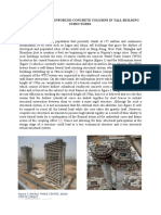 Shortening of Reinforced Concrete Columns in Tall Building Structures