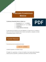 Funciones Elementales (15-16)