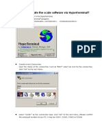 Flash via Hyper-terminal
