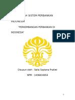 Makalah Sistem Perbankan Indonesia