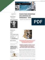 Pasos Para Registrar Una Empresa en Venezuela - 2014