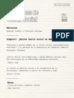 Cuadernos de Teoría Social