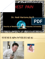 Chest Pain Dr. Hadi Hartono,SpJP (Bhn Kuliah)