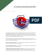 Tendencias Del Comercio Electrónico Para 2014