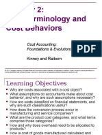 Cost Accounting Chapter02 Terms Behaviors