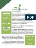 Williamson Wellness Center January Newsletter