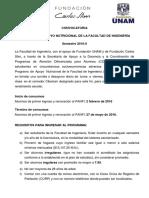 ConvocatoriaPANFI2016 II