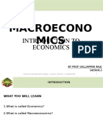 1. Introduction to Macroeconomics
