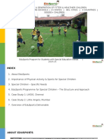 EduSports Program for Special Children V1