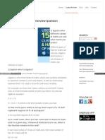 Career Guru99 Com Top 20 Mathematics Interview Question