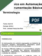 Instrumentação Industrial - Terminologia