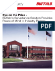 Buffalo's Surveillance Solution Provides Peace of Mind to Industry Partner