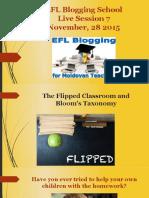 EFL Blogging School live session 7 presentation