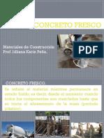 4ta Clase Concreto Fresco