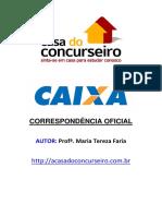 apostila de Correspondencia Oficial CASACEF