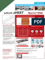 Data Sheet Murfor - Type RND