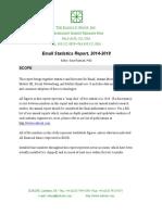 Email Statistics Report 2014 2018 Executive Summary