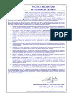 Politica Seguridad y Salud en El Trabajo (1)