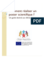 Comment réaliser un bon poster scientifique