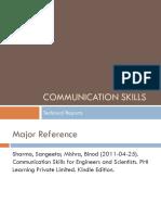 Communication Skills Report Writing
