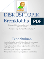 Diskusi Topik Bronkiolitis James