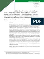 Efecto de Ruscus Aculeatus Acido Ascorbico en Pz Con Ivc