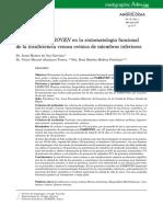 Eficacia Del Fabroven en La Sintomatologia Funcional de La Insuficiencia Venosa Cronica