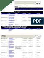 CTW Schedule