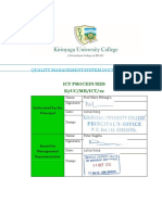 12 ICT Procedures Manuals 1