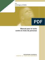 Manual Para La Lucha Contra La Trata de Personas 2007