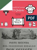Presentacion Quijote