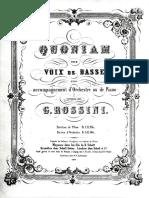Rossini Quoniam Schott1851 KPL