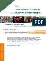Université de Bourgogne - Guide Post Bac Sinscrire en 1ere Année à LUniversité de Bourgogne