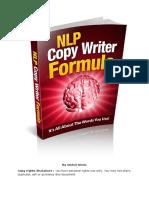 NLP Copy Writer Formula