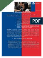 Normativa 2015 Exmenes Libres Menores de 18