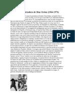 Presidencia y Dictadura de Diaz Ordaz