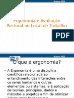 4 - Ergonomia e Avaliação Postural No Local de Trabalho