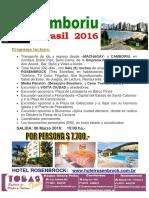 CAMBORIU 2016 - Tobas Tour