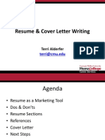 Resume and Cover Letter Writing - May 2015