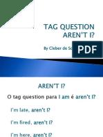 Tag Questions - I Am..., Aren't I