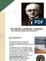 Ar.Edwin Lutyen
