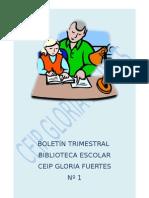 BOLETÍN TRIM Nº 1 B.E. CEIP Gloria Fuertes (Guadiaro, Cádiz)