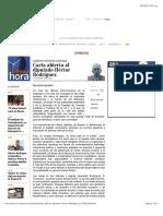 Carta Abierta Al Diputado Héctor Rodríguez, ALBERTO ARTEAGA SÁNCHEZ