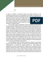 Manfredo de Souzanetto Texto Critico