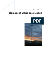 Technical_manual_1 Design of Monopole Bases